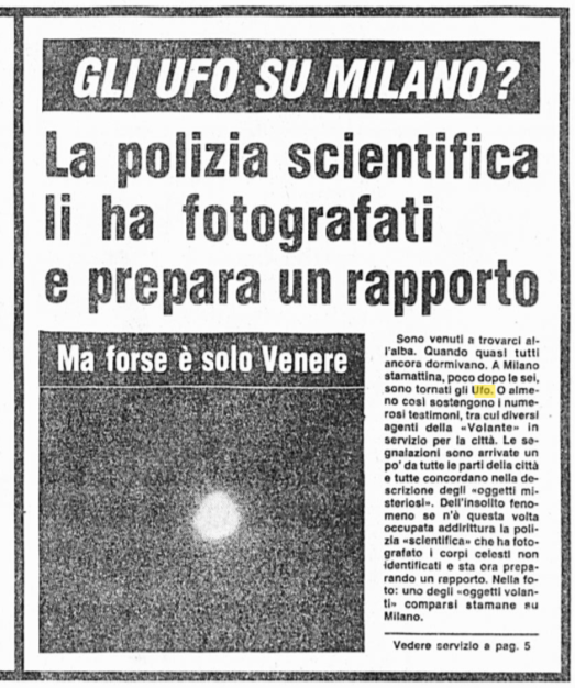 Ufo Milano
