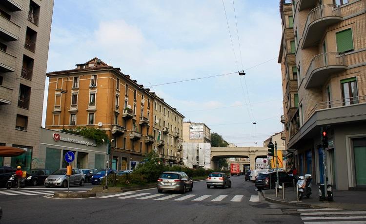 Rogo cinema Eros viale Monza