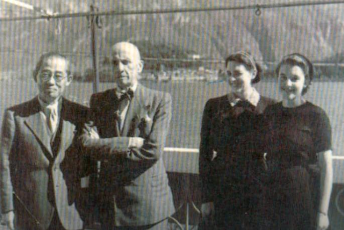 Filippo Tommaso Marinetti a Bellagio